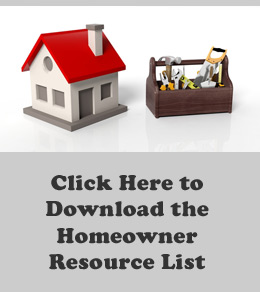 Seattle homeowner resource list download